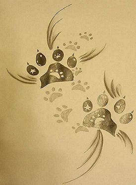 pin pin tattoo katzenpfote lilzeu de on pinterest on pinterest. Black Bedroom Furniture Sets. Home Design Ideas