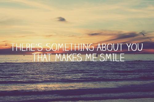 es gibt menschen die zaubern dir ein lächeln ins gesicht