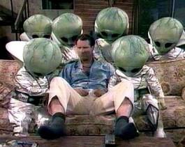 Al Bundy and the aliens :D
