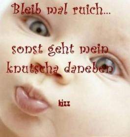 Süße Baby Sprüche Bilder Und Sprüche Bussi
