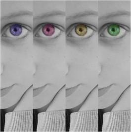 Bildbearbeitung 1 Augenfarbe In Schwarz Weiss Verandern